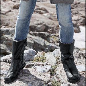 Garnet Hill Gentle Souls Warm Me Up boots, black